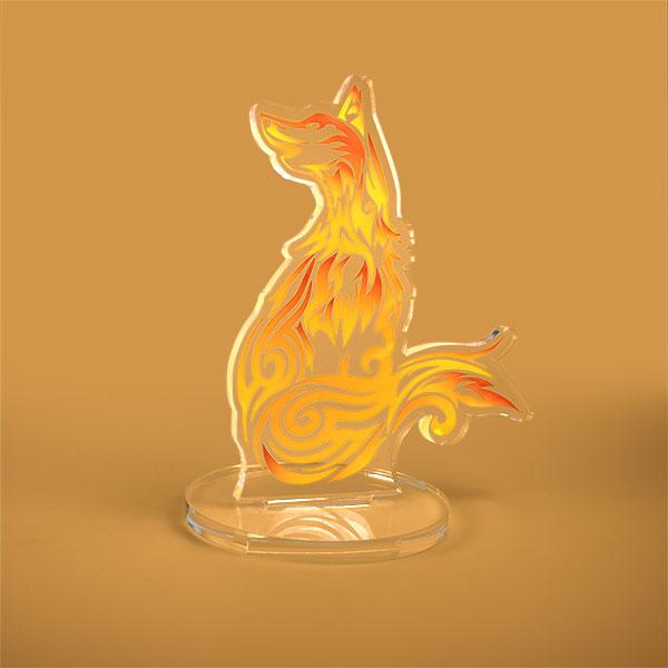 Bespoke shape acrylic award