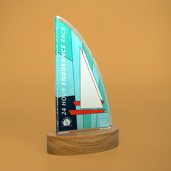 standard acrylic award sail