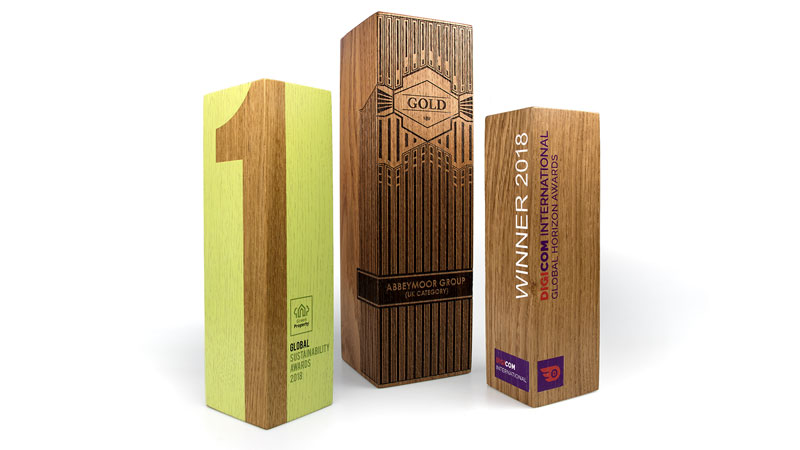 real wood sunrise awards