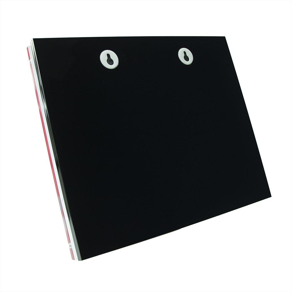 Glossline Combination Plaque Rear