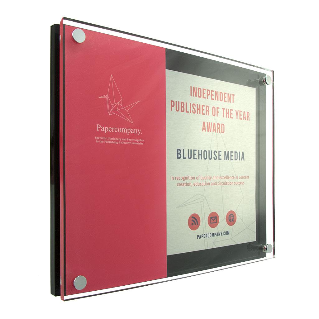 Glossline Combination Plaque