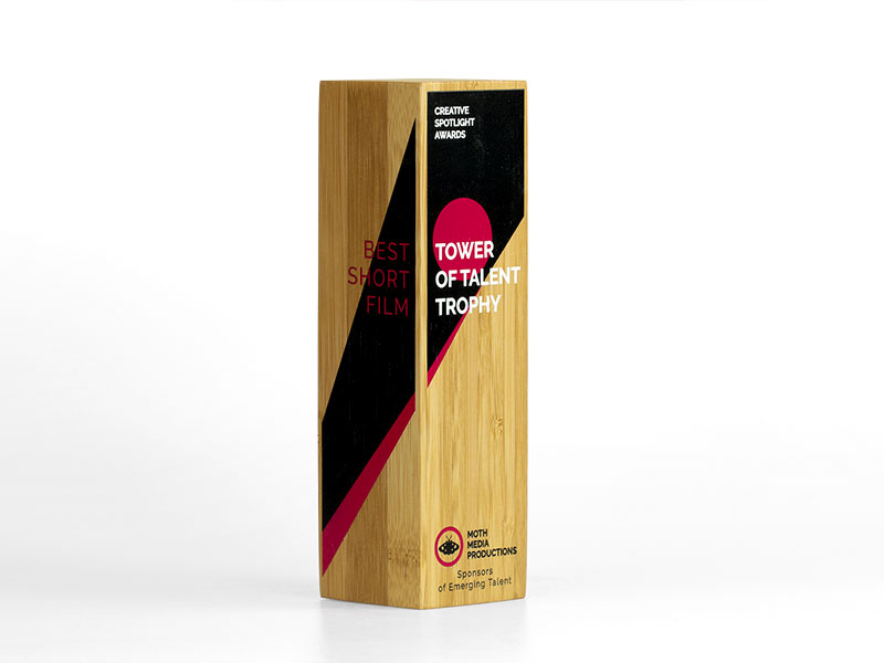 Bamboo Column Award Printed
